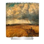 The Gathering Storm, 1819 Shower Curtain by John Constable
