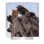General George Meade Memorial -- The Front Shower Curtain