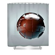 The Generator Shower Curtain by Adam Vance