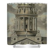The German Cathedral On The Gendarmenmarkt Shower Curtain