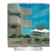 The Getty Panel 1 Shower Curtain