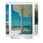 The Getty Triptych Shower Curtain