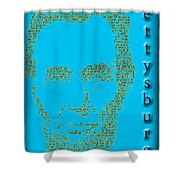 The Gettysburg Address 150th Anniversary  Shower Curtain