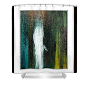 The Ghost In You Shower Curtain