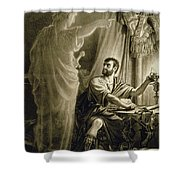 The Ghost Of Julius Caesar, In The Play Shower Curtain