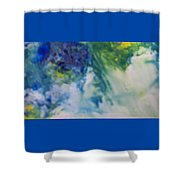 Ghost Of Puff Dragon Shower Curtain