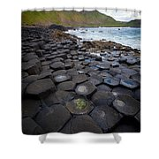 The Giant's Causeway - Staircase Shower Curtain