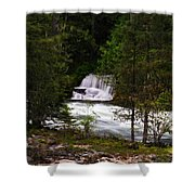 The Gift Of A Hidden Wterfall Shower Curtain by Jeff Swan