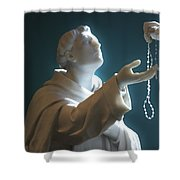 The Gift Of A Rosary Shower Curtain