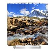 The Glacier Rush Shower Curtain