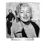 The Glamour Days Marilyn Monroe Shower Curtain