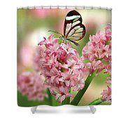 The Glasswing Shower Curtain