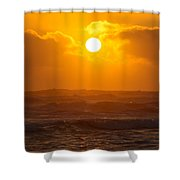 The Glorious Son Shower Curtain