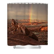 The Glory Of Sandstone Shower Curtain