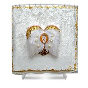 The Goddess Of The Golden Temple Shower Curtain