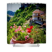 The Godfather Villages Of Sicily Shower Curtain
