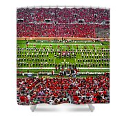 The Going Band From Raiderland Shower Curtain by Mae Wertz