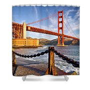 The Golden Gate Shower Curtain