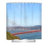The Golden Gate Shower Curtain
