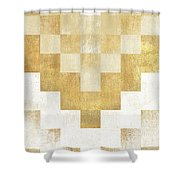The Golden Path Shower Curtain
