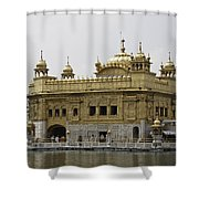 The Golden Temple In Amritsar Shower Curtain