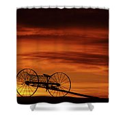 The Good Old Days Shower Curtain by Bob Christopher