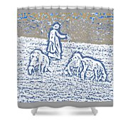 The Good Shepherd 2 Shower Curtain