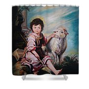 The Good Shepherd Shower Curtain