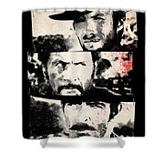 The Good The Bad And The Ugly Shower Curtain