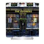The Gooners Pub Shower Curtain