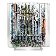 The Goose Gate Shower Curtain