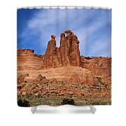 The Gossips A Nature's Beauty Shower Curtain