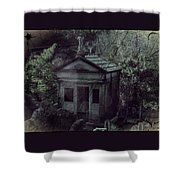 The Gothic Cemetery Shower Curtain