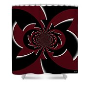 The Gothic Puzzle Shower Curtain