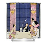 The Gourmands Shower Curtain