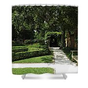 The Govenor's Gardens Shower Curtain