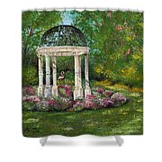 The Governor's Gazebo Shower Curtain