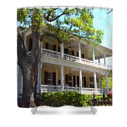 The Governors House Inn Shower Curtain