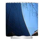 The Grace Building Shower Curtain