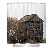 The Granary Shower Curtain