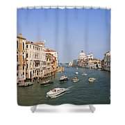 The Grand Canal, Venice Shower Curtain