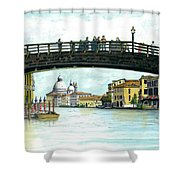 The Grand Canal Venice Italy Shower Curtain