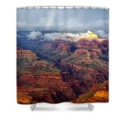 The Grand Canyon After The Storm Shower Curtain