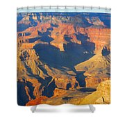 The Grand Canyon From Outer Space Shower Curtain