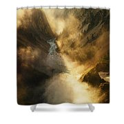 The Grand Canyon Of Yellowstone Shower Curtain