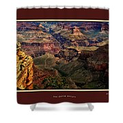 The Grand Canyon Shower Curtain by Tom Prendergast