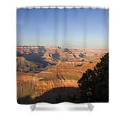 The Grand Canyon Towards Sunset Shower Curtain