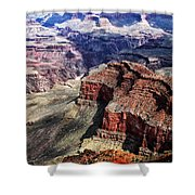 The Grand Canyon V Shower Curtain