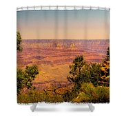 The Grand Canyon Vintage Americana Iv Shower Curtain