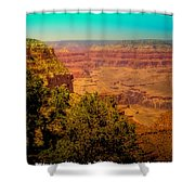 The Grand Canyon Vintage Americana Vii Shower Curtain